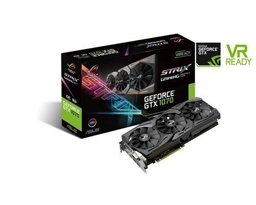 Asus Geforce Gtx 1070 Strix Gaming Oc 8gb