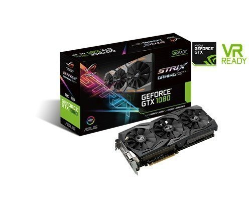 Asus Geforce Gtx 1080 Strix Gaming Oc