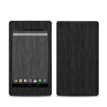 Asus Google Nexus 7 2 Black Woodgrain Skin