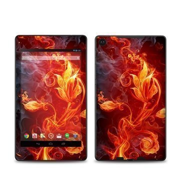 Asus Google Nexus 7 2 Flower Of Fire Skin
