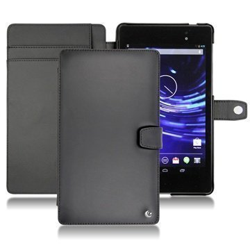 Asus Google Nexus 7 2 Noreve Tradition B Flip Nahkakotelo Musta