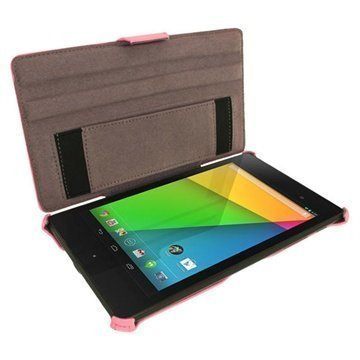 Asus Google Nexus 7 2 iGadgitz Leather Case Pink