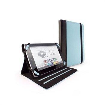 Asus Google Nexus 7 Amazon Kindle Fire Tuff-Luv Slim-Stand Nahkakotelo Sininen