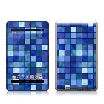Asus Google Nexus 7 Blue Mosaic Skin