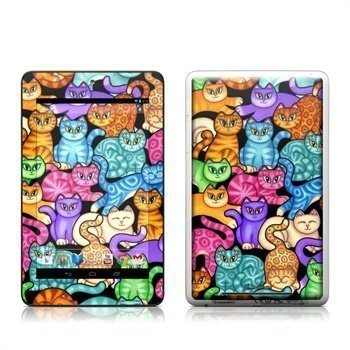 Asus Google Nexus 7 Colorful Kittens Skin