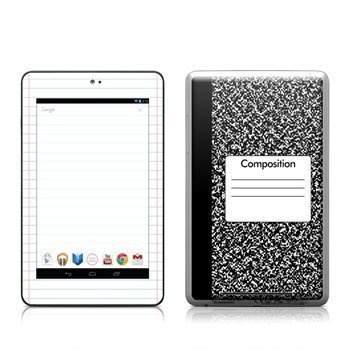Asus Google Nexus 7 Composition Notebook Skin