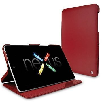 Asus Google Nexus 7 Noreve Tradition Leather Case Red
