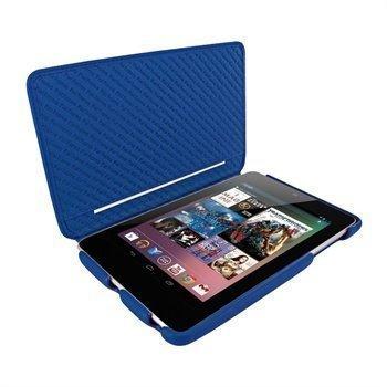 Asus Google Nexus 7 Piel Frama iMagnum2 Nahkakotelo Sininen