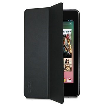 Asus Google Nexus 7 Puro Zeta Slim Läppäkotelo Musta