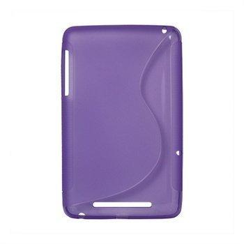 Asus Google Nexus 7 S-Curve TPU-Kotelo Violetti
