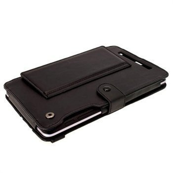 Asus Google Nexus 7 iGadgitz Guardian Tri-view Leather Case Black