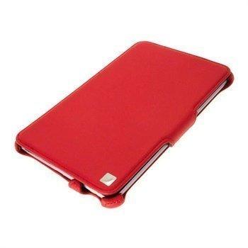 Asus Google Nexus 7 iGadgitz Tekonahkakotelo Punainen