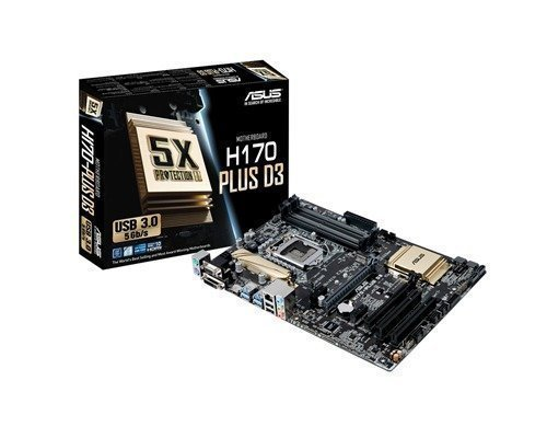 Asus H170-plus D3 Lga1151 Socket Atx