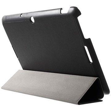 Asus Memo Pad 10 ME103K Tri-Fold Smart Kotelo Musta