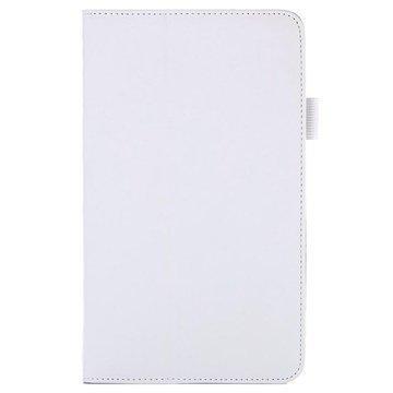 Asus Memo Pad 8 ME581CL Smart Nahkainen Läppäkotelo Valkoinen