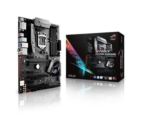 Asus Strix Z270h Gaming Lga1151 Socket Atx