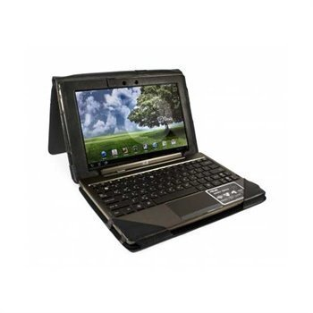 Asus Transformer Prime TF201 Tuff-Luv Leather Case Black