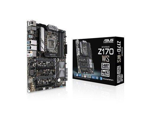 Asus Z170-ws Lga1151 Socket Atx