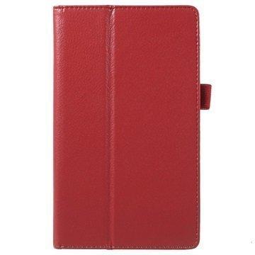 Asus ZenPad C 7.0 Z170MG Kannellinen Nahkakotelo Punainen