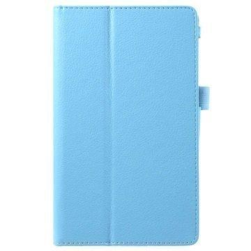 Asus ZenPad C 7.0 Z170MG Kannellinen Nahkakotelo Vaaleansininen