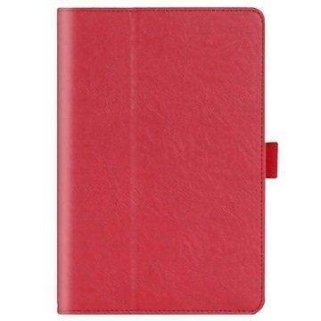 Asus ZenPad S 8.0 Z580C Kannellinen Nahkakotelo Punainen