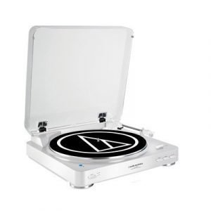 Audio-technica Audio-technica At-lp60wh-bt White