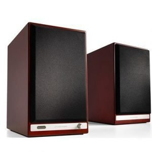 Audioengine Powered Bookshelf Speakers Hd6 Cherry