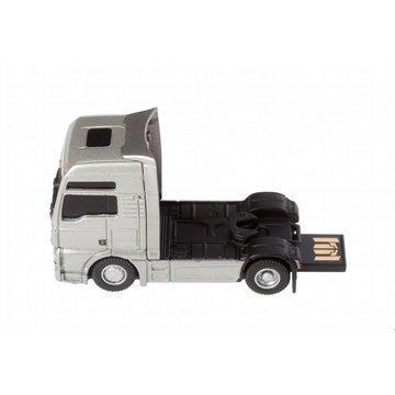 AutoDrive USB Stick 8GB MAN Truck Tractor Silver