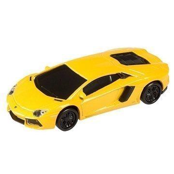 Autodrive Lamborghini Aventador USB-Muistitikku 8Gt Keltainen