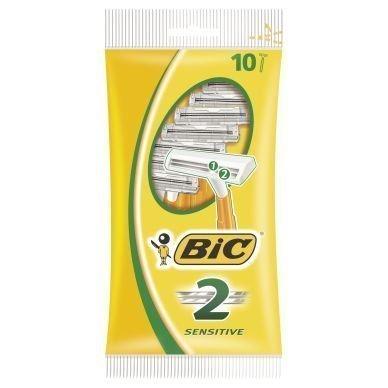 BIC-höylä Sensitive kaksiteräinen 10 kpl/pakkaus