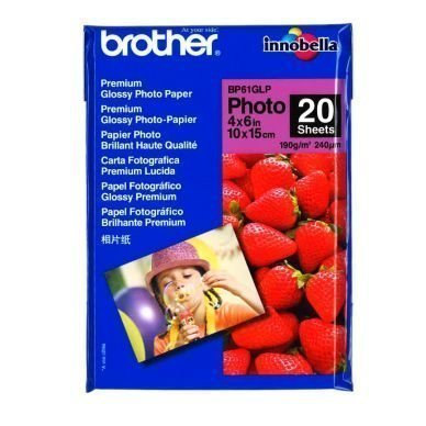 BROTHER Photo-kiiltopaperi 10x15 20 ark. 190g