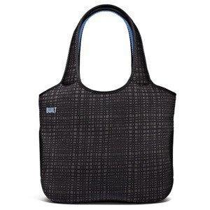 "BUILT NY Neoprene Tote Bag for 13 Macbook Graphite Grid"""