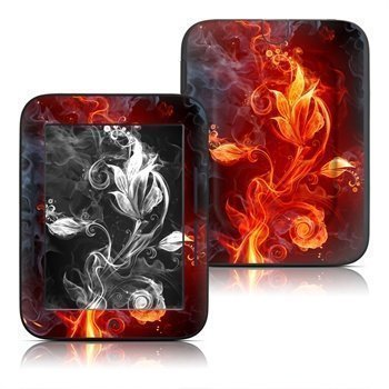 Barnes & Noble Nook Simple Touch Flower Of Fire Skin