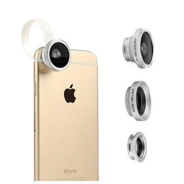 Baseus Mini Lens Series 3 in 1 Kameran Objektiivisarja