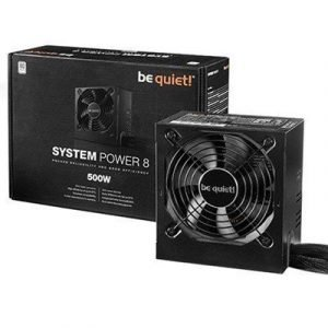Be Quiet Be Quiet! System Power 8 500wattia 80 Plus