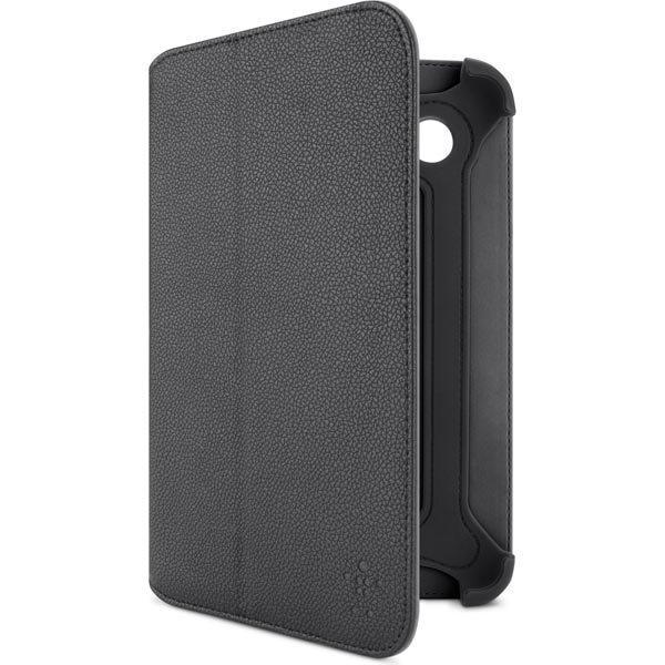Belkin Bi-Fold tekonahkasuojus Galaxy Tab 2 7.0 malliin musta