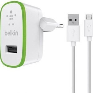 Belkin Home Charger With Charge-sync Cable 1.22m Valkoinen