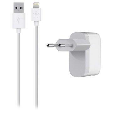 Belkin Lightning Single Microkaapeli Laturi iPhone 6S Plus iPad Mini 4 Valkoinen