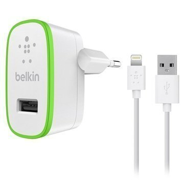 Belkin Lightning USB Matkalaturi iPhone 6S Plus iPhone 6 iPad Pro Valkoinen
