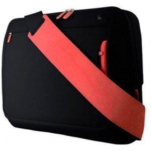 Belkin Messenger Bag 15.6tuuma Polyesteri Musta Punainen