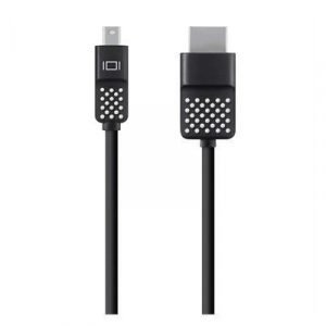 Belkin Mini Displayport To Hdtv Cable Mini Displayport Uros 19-nastainen Hdmi Tyyppi A Uros Musta