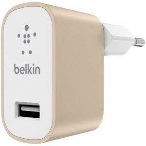 Belkin Mixit Home Charger Valkoinen Kulta