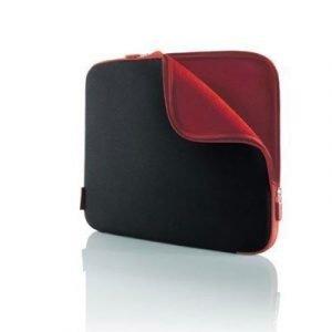Belkin Neoprene Sleeve For Notebooks Up To 15.6 15.6tuuma Neoprene Musta Punainen