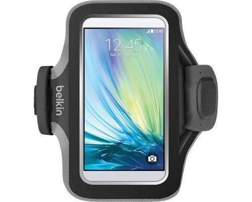 Belkin Sport-fit Plus Armband Samsung Galaxy S6 Edge Samsung Galaxy S6 Musta