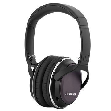 Benwis H600 Over-Ear Stereokuulokkeet Musta
