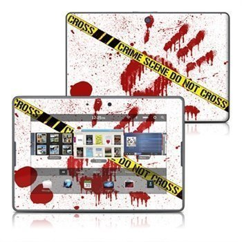 BlackBerry PlayBook Crime Scene Revisited Skin