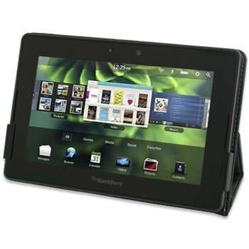 BlackBerry PlayBook PDair Leather Case 3BBBPBBX1 Musta