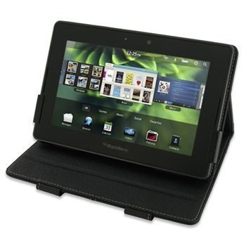 BlackBerry PlayBook PDair Leather Case 3BBBPBBX2 Musta