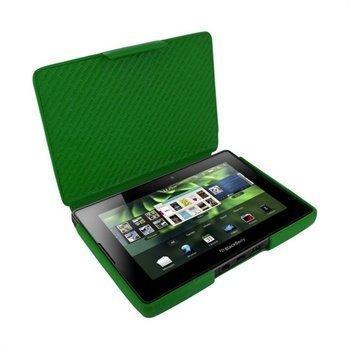 BlackBerry PlayBook Piel Frama iMAGNUM Nahkakotelo Vihreä