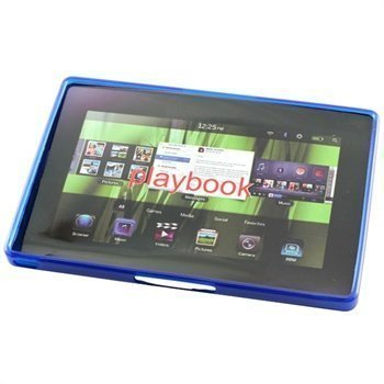 BlackBerry PlayBook TPU Case Blue